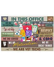 In this office Poster 24x16 Poster front