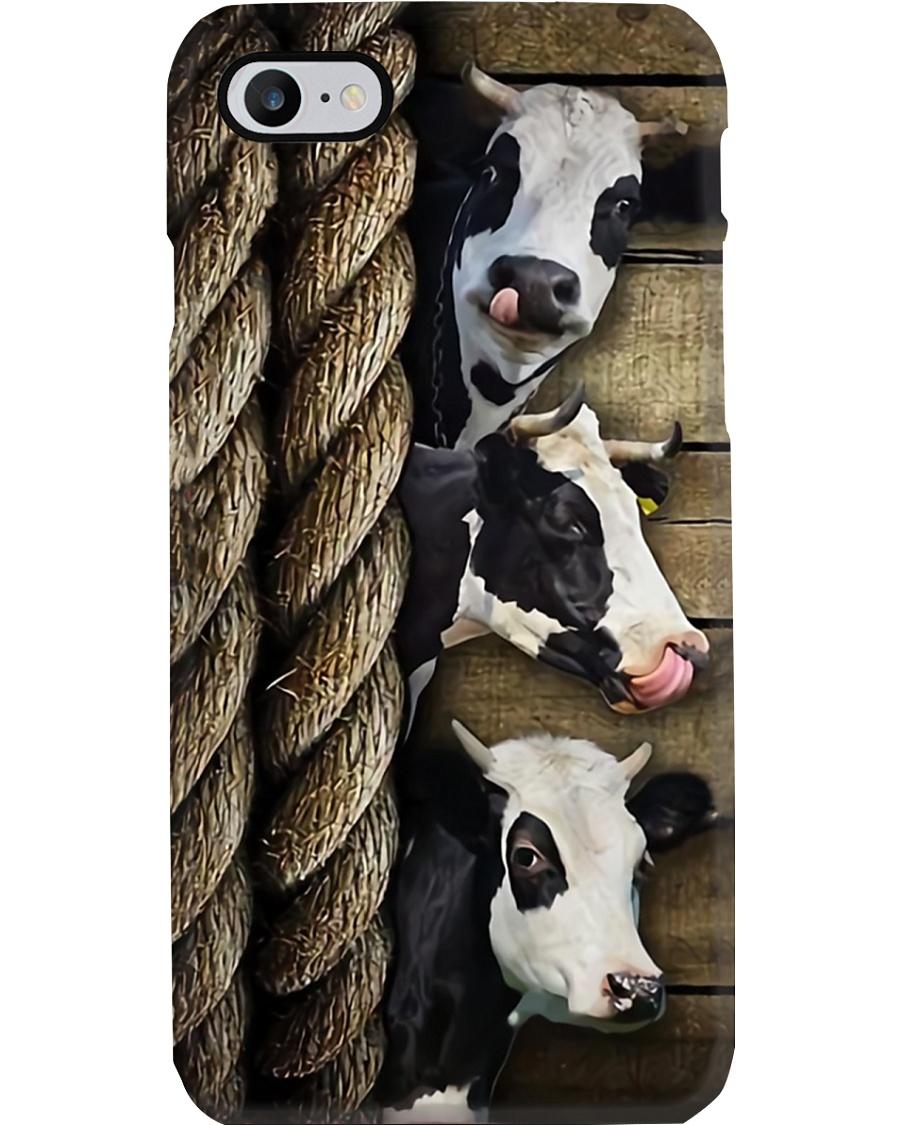 Farmer Cow Farm Phone Case