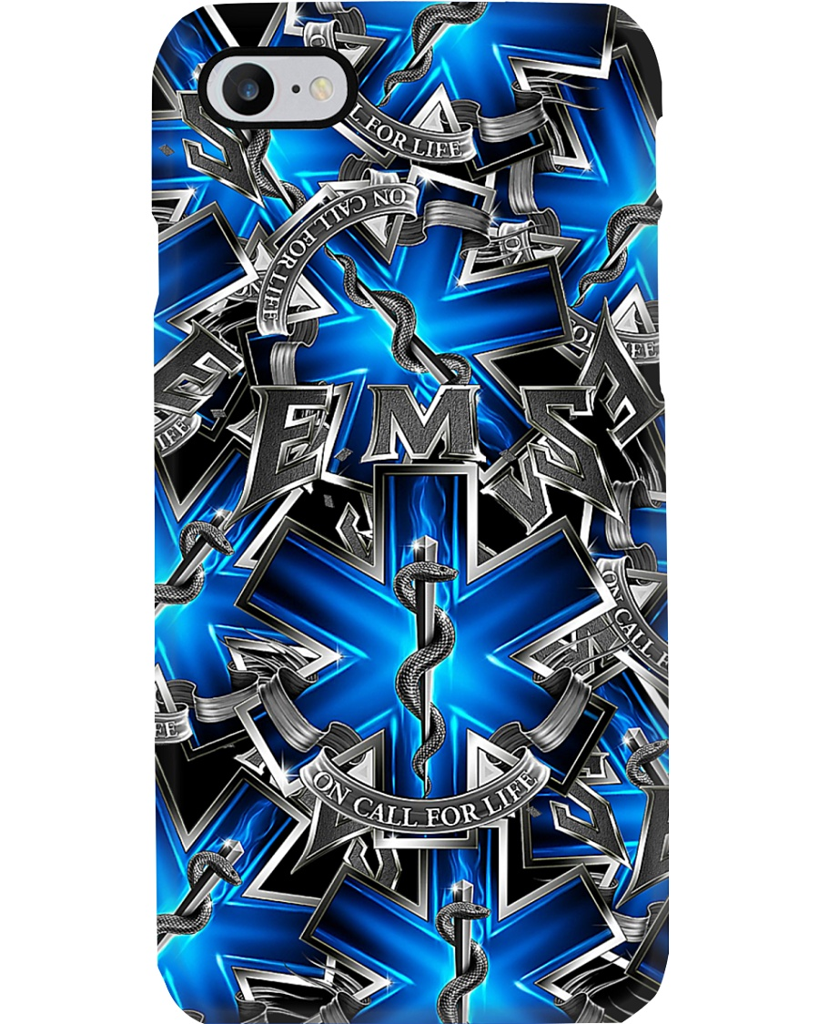 Paramedic - On Call For Life Phone Case