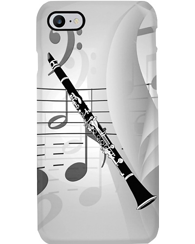 Clarinet With Musical Accents