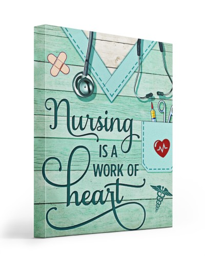 Nurse Nursing is a work of heart