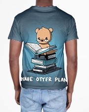I have otter plans All-over T-Shirt aos-all-over-T-shirt-lifestyle-back-02