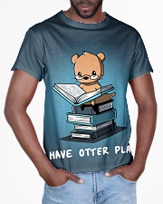I have otter plans All-over T-Shirt aos-all-over-T-shirt-lifestyle-front-03