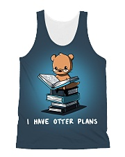 I have otter plans All-over Unisex Tank thumbnail