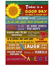Teacher Today Is A Good Day 11x17 Poster front