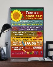 Teacher Today Is A Good Day 11x17 Poster lifestyle-poster-2