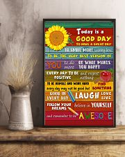 Teacher Today Is A Good Day 11x17 Poster lifestyle-poster-3