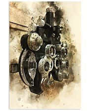 Optometrist Phoropter Watercolor  11x17 Poster front