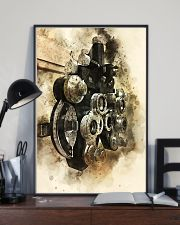 Optometrist Phoropter Watercolor  11x17 Poster lifestyle-poster-2