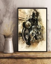 Optometrist Phoropter Watercolor  11x17 Poster lifestyle-poster-3