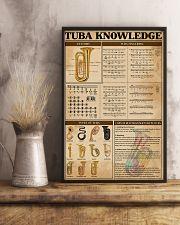 Tubist Tuba Knowledge 11x17 Poster lifestyle-poster-3