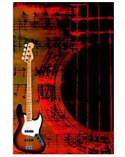 Art Color Bass Guitar 11x17 Poster front