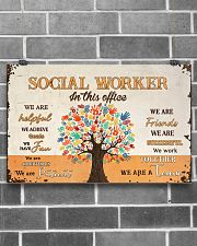 Social Worker In This Office 17x11 Poster poster-landscape-17x11-lifestyle-18