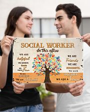 Social Worker In This Office 17x11 Poster poster-landscape-17x11-lifestyle-20