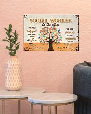 Social Worker In This Office 17x11 Poster poster-landscape-17x11-lifestyle-21
