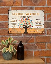 Social Worker In This Office 17x11 Poster poster-landscape-17x11-lifestyle-23