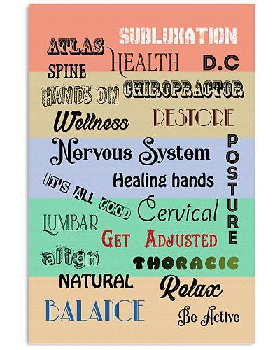 Chiropractor words