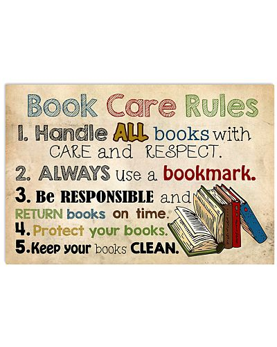 Librarian Book Care Rules