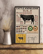 Farmer Cattle Knowledge 11x17 Poster lifestyle-poster-3