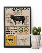 Farmer Cattle Knowledge 11x17 Poster lifestyle-poster-8