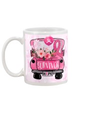 Breast Cancer Survivor Hope Mug back