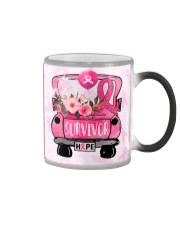 Breast Cancer Survivor Hope Color Changing Mug thumbnail
