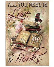 Librarian All You Need Is Love And Books 11x17 Poster front