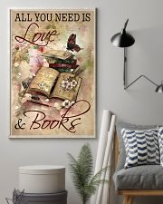 Librarian All You Need Is Love And Books 11x17 Poster lifestyle-poster-1