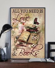 Librarian All You Need Is Love And Books 11x17 Poster lifestyle-poster-2