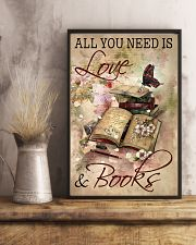 Librarian All You Need Is Love And Books 11x17 Poster lifestyle-poster-3