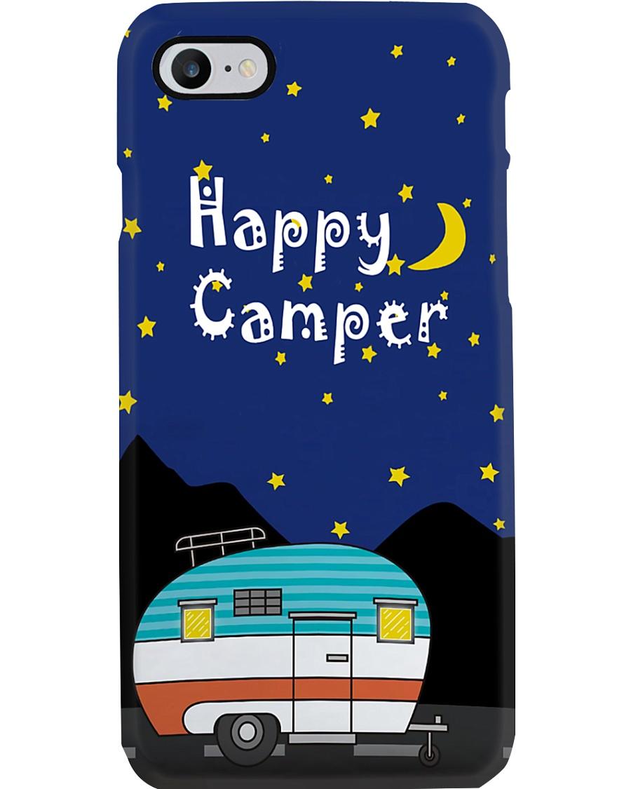 Camping Happy Camper In Night Phone Case