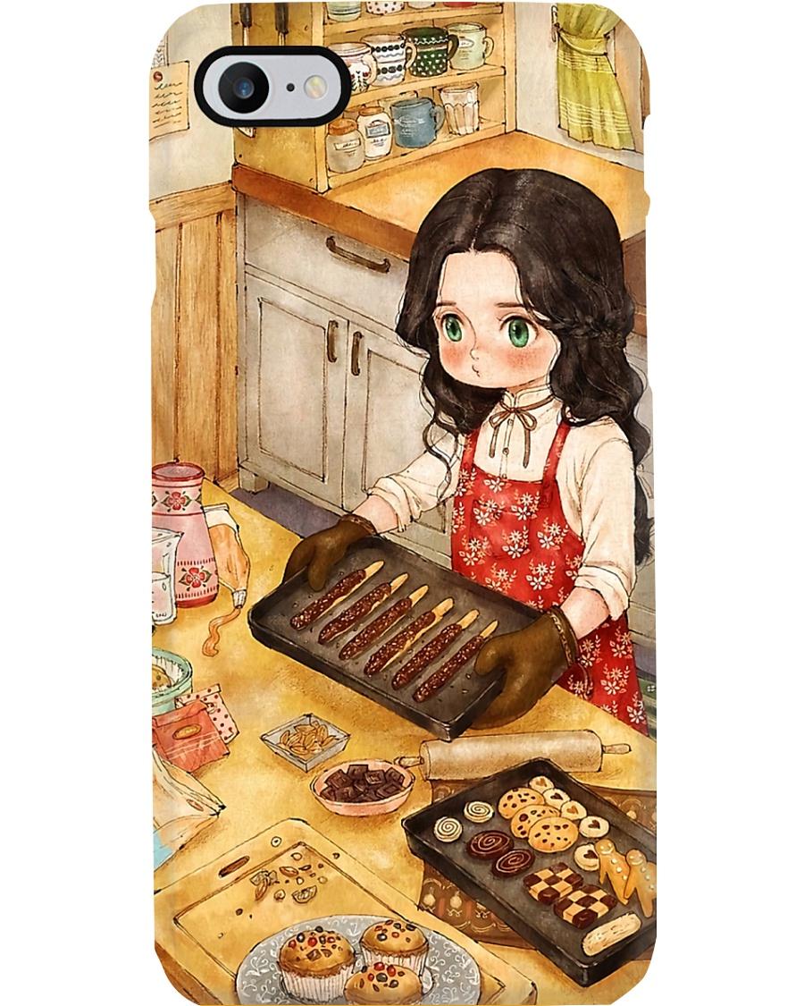 Baking Girl Phone Case