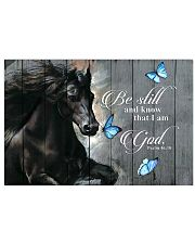 Horse Girl Be Still And Know That I Am 17x11 Poster front