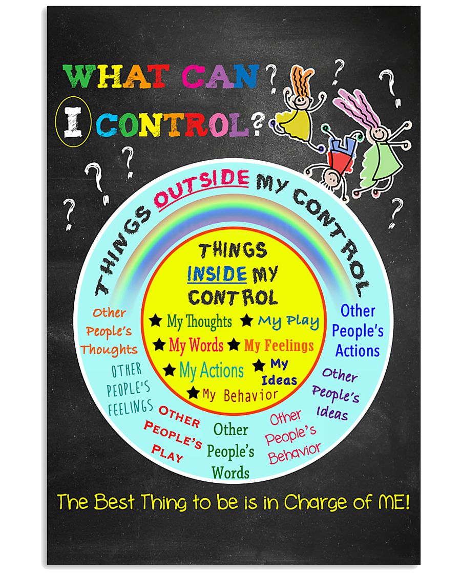 Social Worker What Can I Control 11x17 Poster