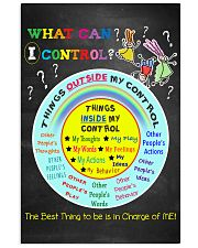 Social Worker What Can I Control 11x17 Poster front