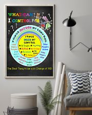 Social Worker What Can I Control 11x17 Poster lifestyle-poster-1