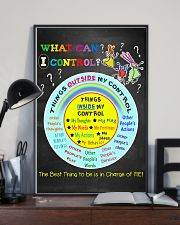 Social Worker What Can I Control 11x17 Poster lifestyle-poster-2