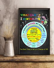 Social Worker What Can I Control 11x17 Poster lifestyle-poster-3