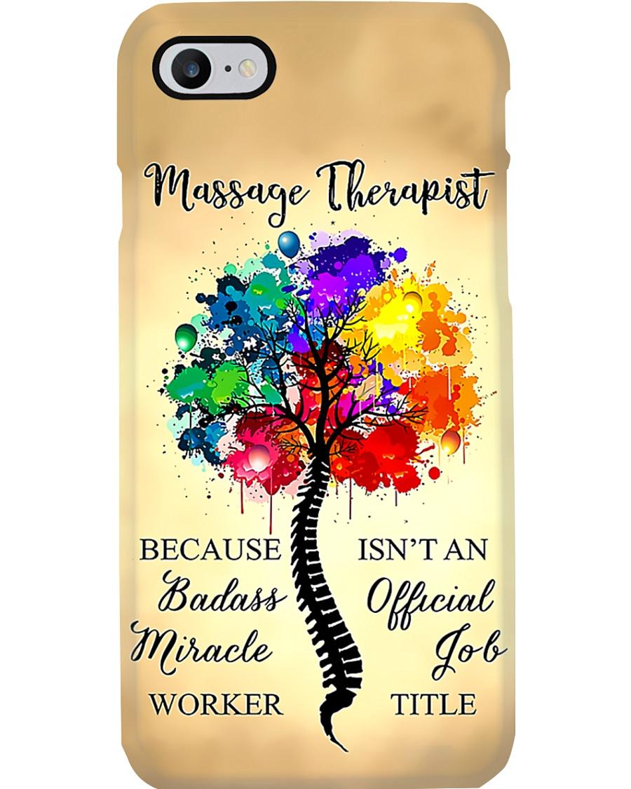 Massage Therapist Badass Miracle Worker Phonecase Phone Case
