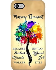 Massage Therapist Badass Miracle Worker Phonecase Phone Case i-phone-7-case