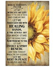 Medical Assistant's Prayer Poster 16x24 Poster front