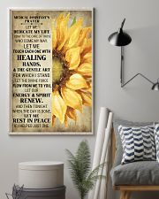 Medical Assistant's Prayer Poster 16x24 Poster lifestyle-poster-1
