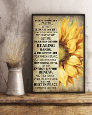 Medical Assistant's Prayer Poster 16x24 Poster lifestyle-poster-3