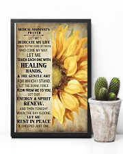 Medical Assistant's Prayer Poster 16x24 Poster lifestyle-poster-8