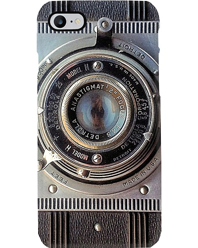 Photographer Detrola Vintage Camera