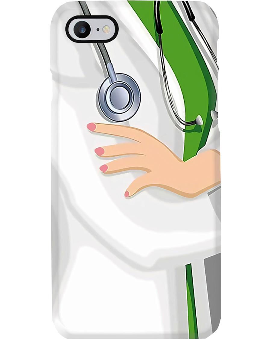 Medical Assistant White Uniform Phone Case