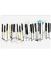 Piano Art Pianist Gift 17x11 Poster front