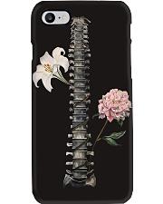 Radiology Floral Spine Phone Case i-phone-7-case