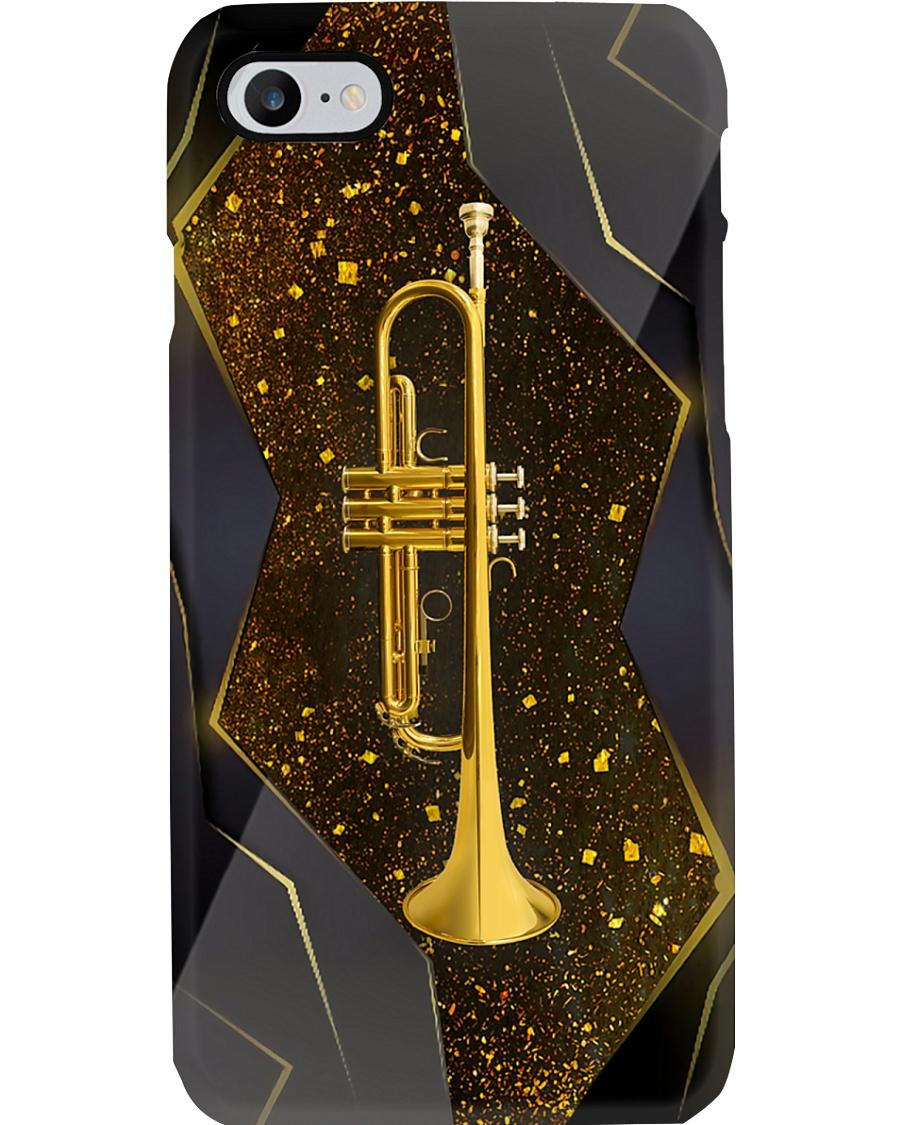 Trumpeter Gold Trumpet Phone Case