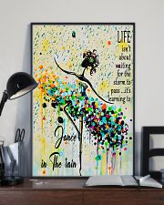 Ballet Learning to dance in the rain 11x17 Poster lifestyle-poster-2
